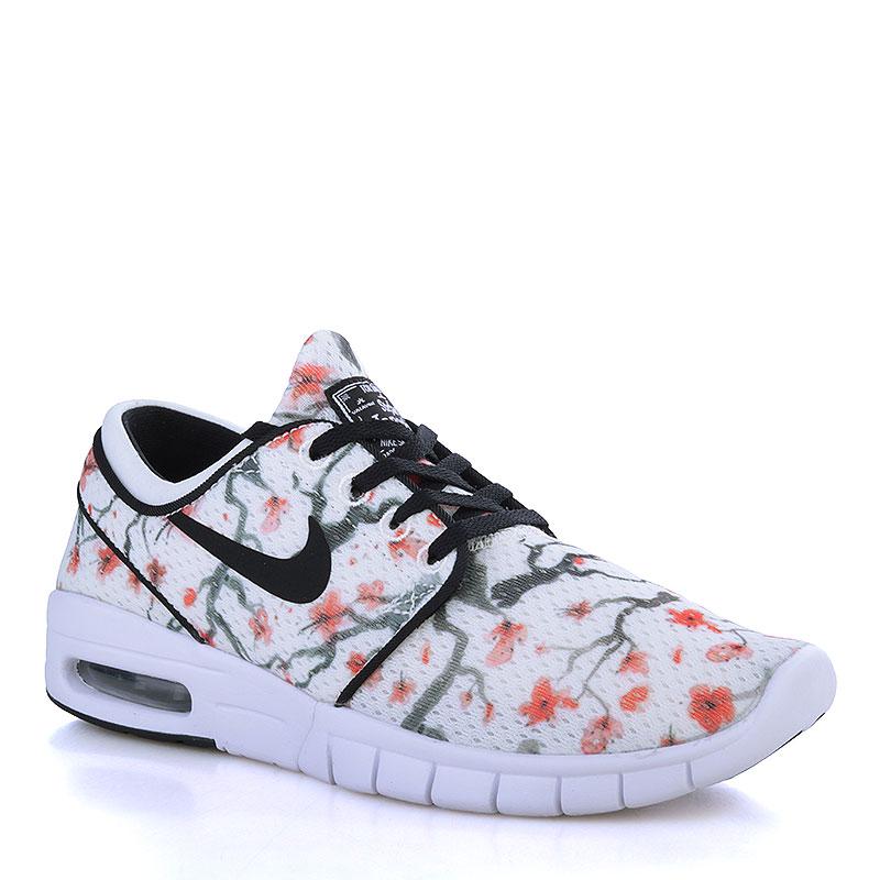 Кроссовки Nike SB Stefan Janoski Max PRMКроссовки lifestyle<br>Кожа, текстиль, резина<br><br>Цвет: Бежевый, белый<br>Размеры US: 5.5<br>Пол: Мужской