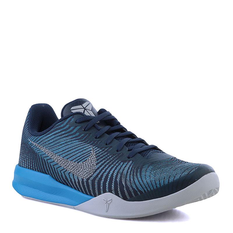 Кроссовки Nike Kobe Mentality IIКроссовки баскетбольные<br>Текстиль,резина<br><br>Цвет: Синий<br>Размеры US: 7;7.5;8;8.5;10;10.5;11;11.5;14;15