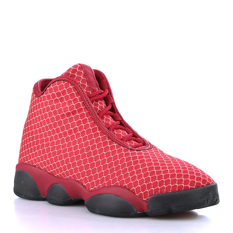 Кроссовки Jordan Horizon BGОбувь детская<br>Текстиль, резина<br><br>Цвет: Красный, чёрный<br>Размеры US: 3.5Y;4.5Y;4Y<br>Пол: Детский