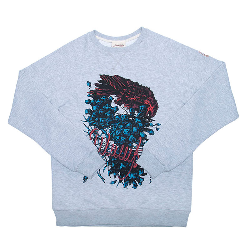 Толстовка Запорожец heritage ШишкиТолстовки свитера<br>100% Хлопок<br><br>Цвет: Серый<br>Размеры : XS;M<br>Пол: Мужской