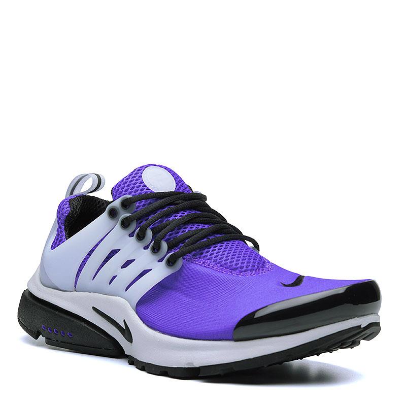 Кроссовки Nike Sportswear Air PrestoКроссовки lifestyle<br>Текстиль, резина<br><br>Цвет: Фиолетовый, чёрный, белый<br>Размеры US: XXL<br>Пол: Мужской