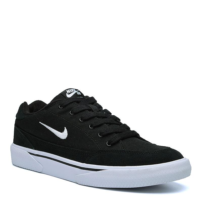 Кроссовки  Nike sb Zoom GTSКроссовки lifestyle<br>Кожа. текстиль, резина<br><br>Цвет: Чёрный, белый<br>Размеры US: 12
