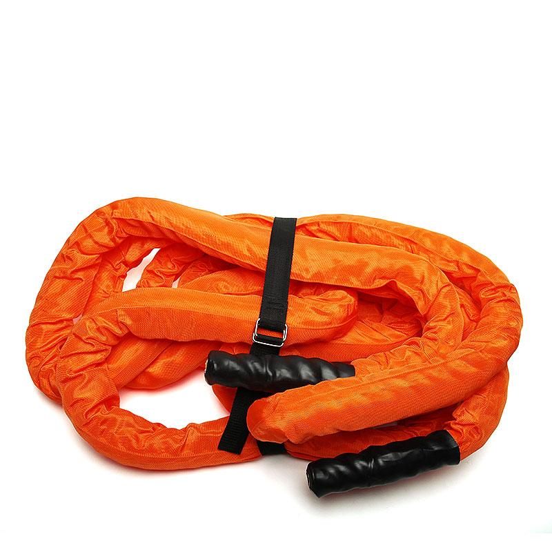 черный, оранжевый  канат get ripped gr tru power rope d 55mm GR-018-16 d 55mm 10m - цена, описание, фото 1