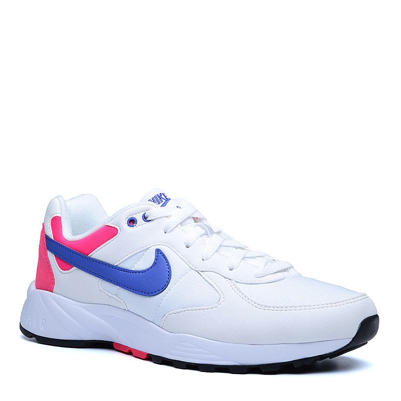 Кроссовки  Nike sportswear Air Icarus NSWКроссовки lifestyle<br>Текстиль, резина<br><br>Цвет: Белый, малиновый<br>Размеры US: 8;8.5;9;9.5;10;10.5;11;11.5;12