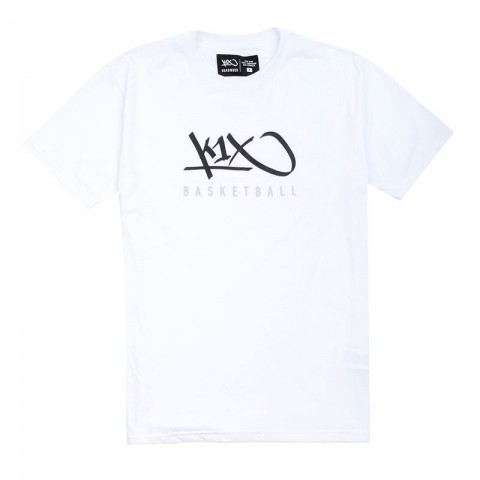 Купить мужскую белую  футболка k1x hardwood tee mk3 в магазинах Streetball - изображение 1 картинки