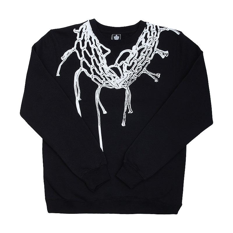 Толстовка K1X Championship crewneckТолстовки свитера<br>100% хлопок<br><br>Цвет: Черный<br>Размеры US: S;M;L<br>Пол: Мужской
