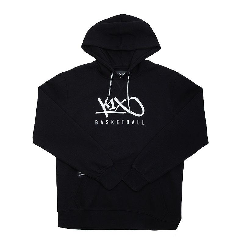 Толстовка K1X Hardwood hoody mk3Толстовки свитера<br>50% хлопок, 50% полиэстер<br><br>Цвет: Черный<br>Размеры US: L;XL<br>Пол: Мужской