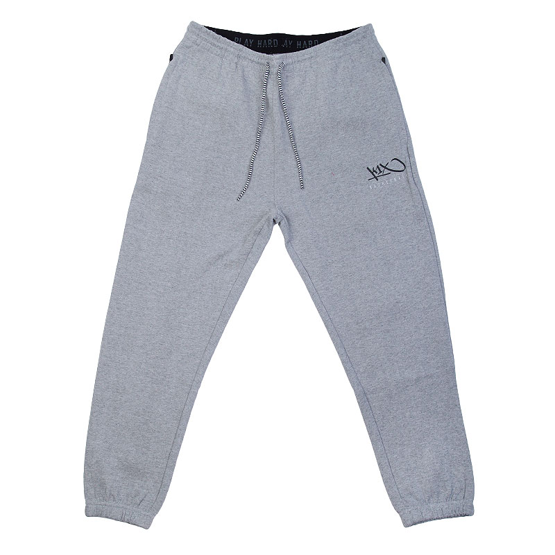 Брюки K1X Hardwood sweatpants mk3Брюки и джинсы<br>50% хлопок, 50% полиэстер<br><br>Цвет: Серый<br>Размеры US: XS;S;M;L;XL<br>Пол: Мужской