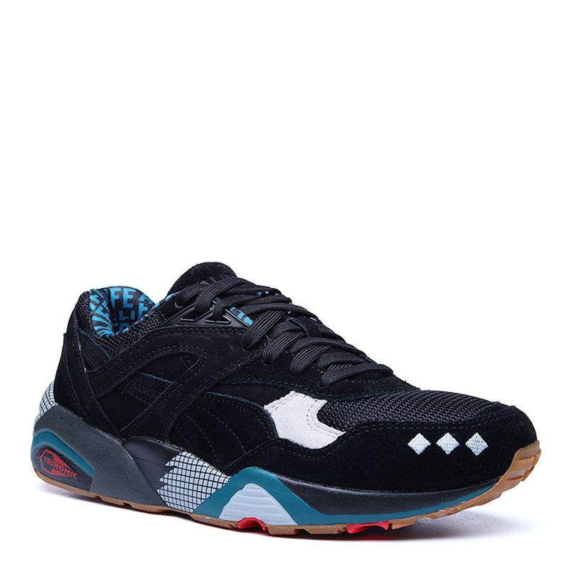 Кроссовки Puma R698 X Alife black
