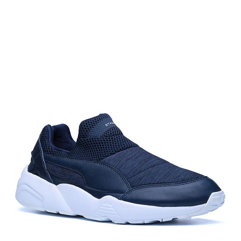 Кроссовки Puma Trimonic sock X StampdКроссовки lifestyle<br>кожа,текстиль,резина<br><br>Цвет: Синий<br>Размеры UK: 10;7;8;9