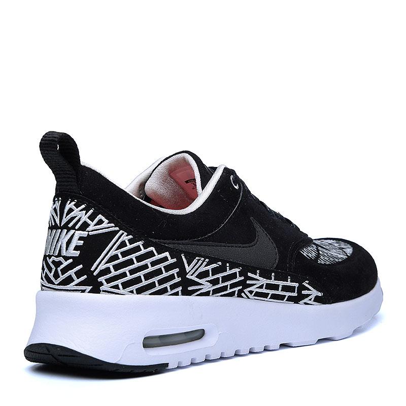 женские черные, белые  кроссовки nike wmns air max thea lotc qs 847072-001 - цена, описание, фото 2