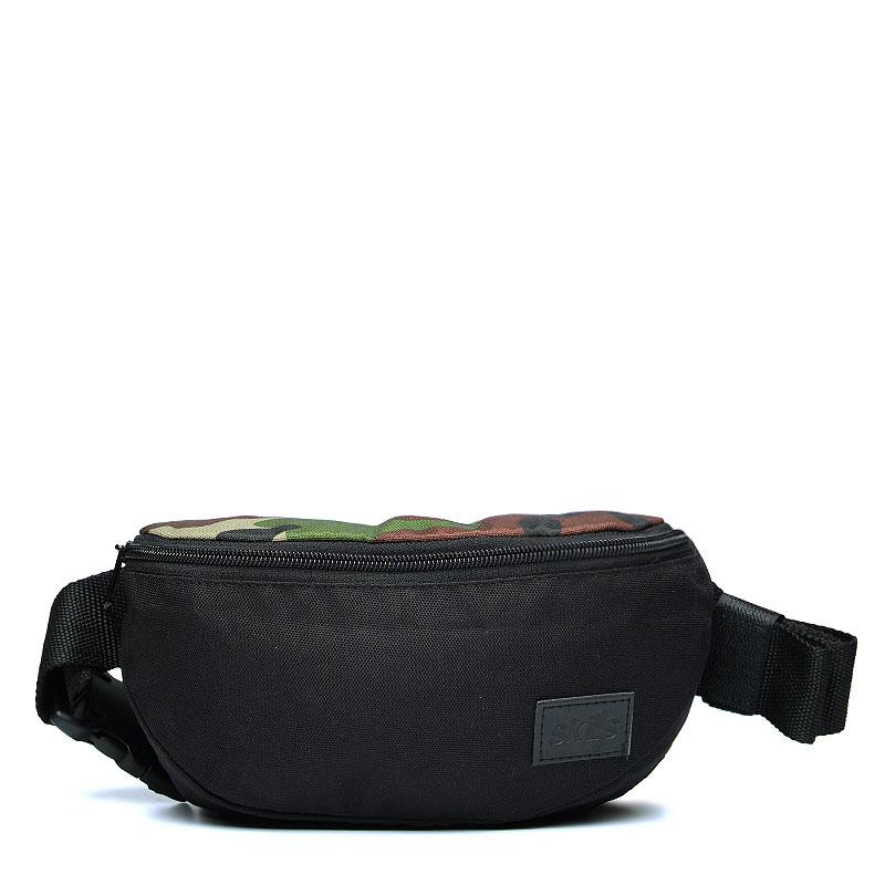 Сумка Skills Small Patch BagСумки, рюкзаки<br>Полиэстер<br><br>Цвет: Камуфляж, чёрный<br>Размеры : OS