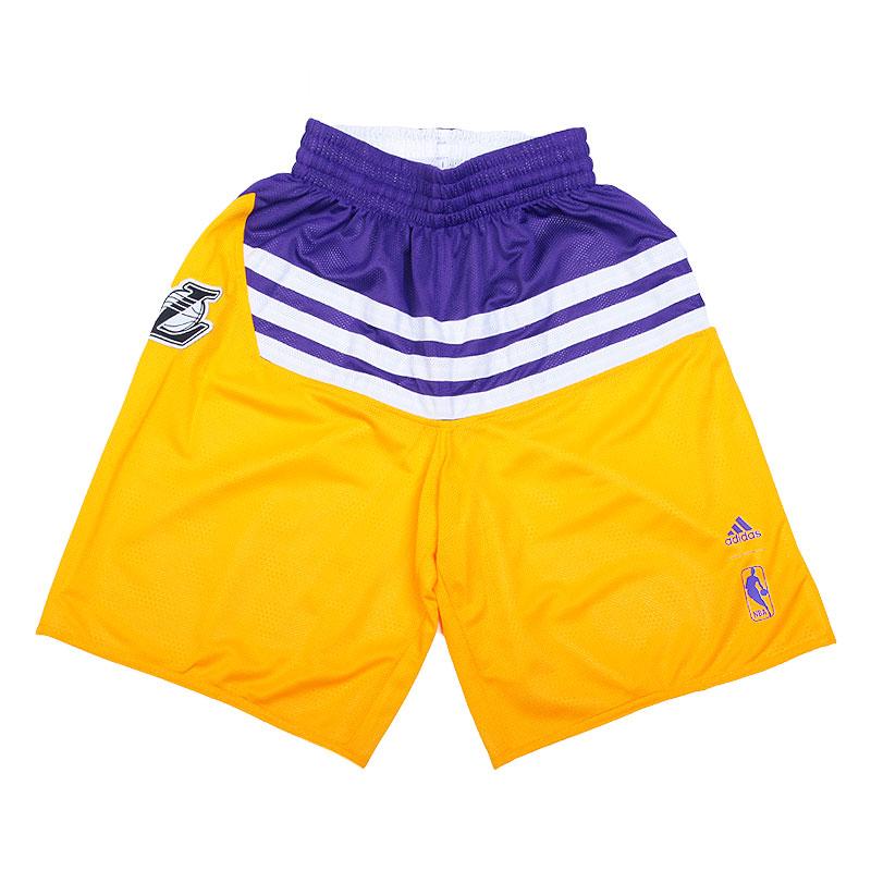 Шорты adidas SMR RN REV SHRTШорты<br>100% полиэстер<br><br>Цвет: Желтый,фиолетовый<br>Размеры UK: 2XL<br>Пол: Мужской