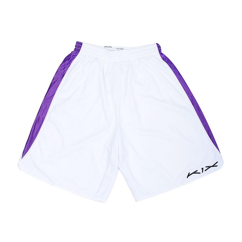 Шорты K1X Hardwood intimidator shortsШорты<br>100% полиэстер<br><br>Цвет: Белый,фиолетовый<br>Размеры US: S;M;L;XL;2XL;3XL<br>Пол: Мужской