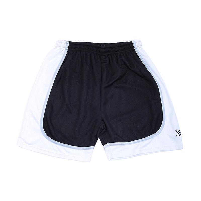 Шорты K1X Hardwood league uniformШорты<br>100% полиэстер<br><br>Цвет: Черный,белый<br>Размеры US: XL;2XL<br>Пол: Мужской