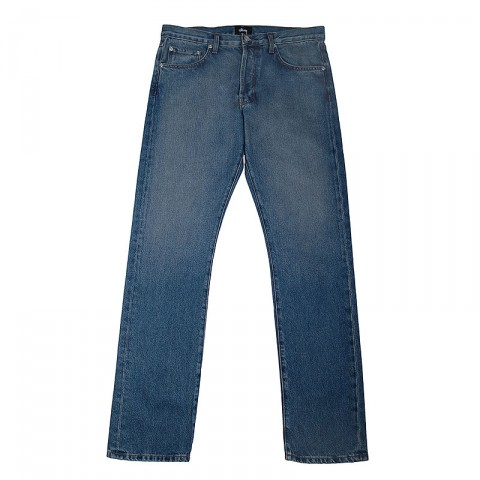 USA Light Wash Denim Jeans Stussy