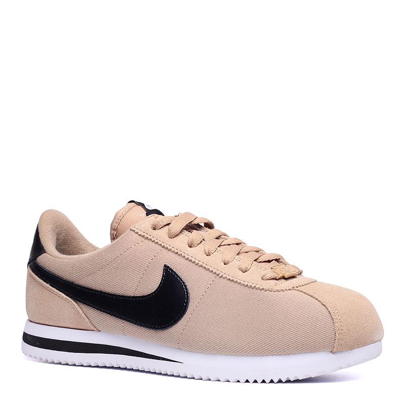 Кроссовки Nike Sportswear Cortez basic prem QSКроссовки lifestyle<br>текстиль,резина<br><br>Цвет: Бежевый,черный<br>Размеры US: 11.5<br>Пол: Мужской