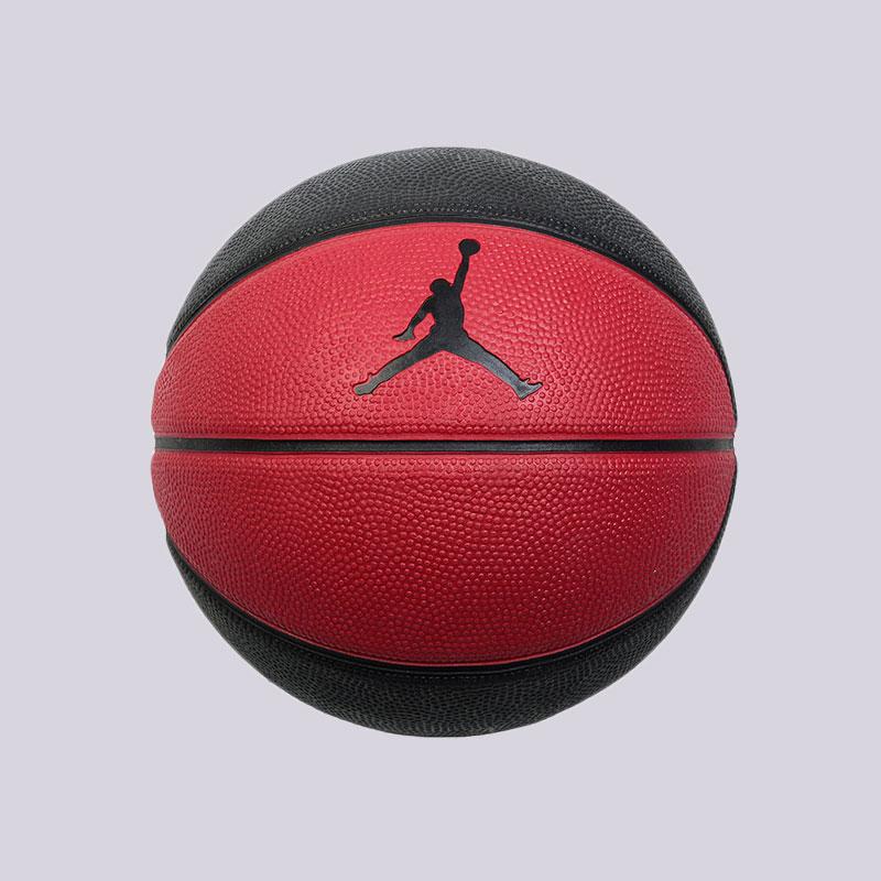 детский чёрный, красный  мяч №3 jordan  BB0487-600 - цена, описание, фото 1