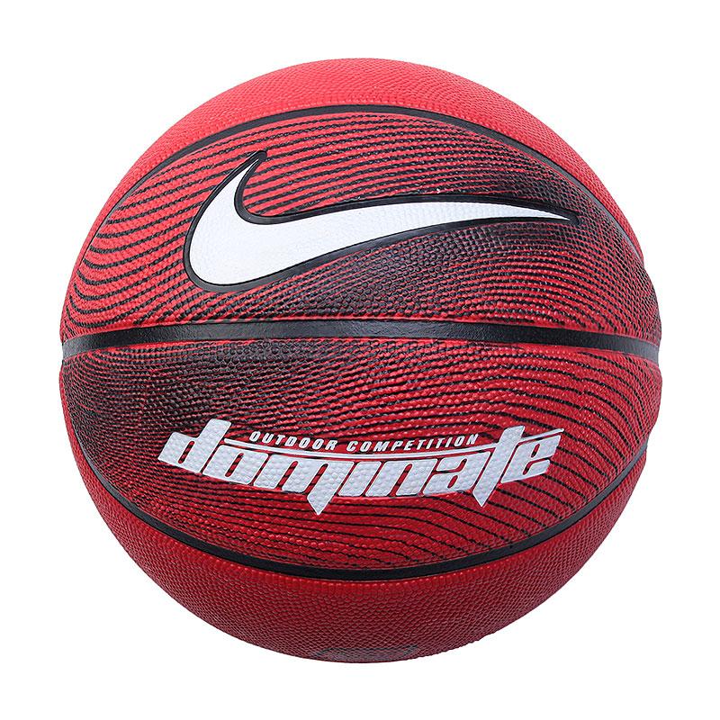 Мяч  Nike DominateМячи<br>Резина<br><br>Цвет: Красный<br>Размеры US: 7
