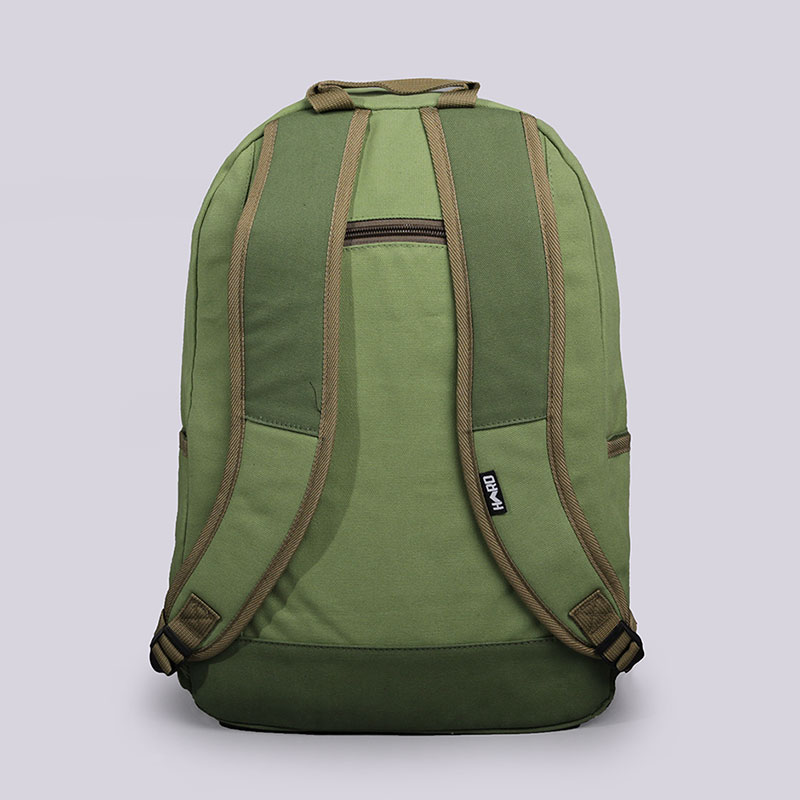 зелёный  рюкзак hard hd backpack medium backpack medium - цена, описание, фото 3