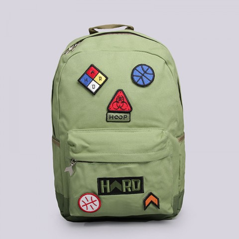зелёный  рюкзак hard hd backpack medium backpack medium - цена, описание, фото 1