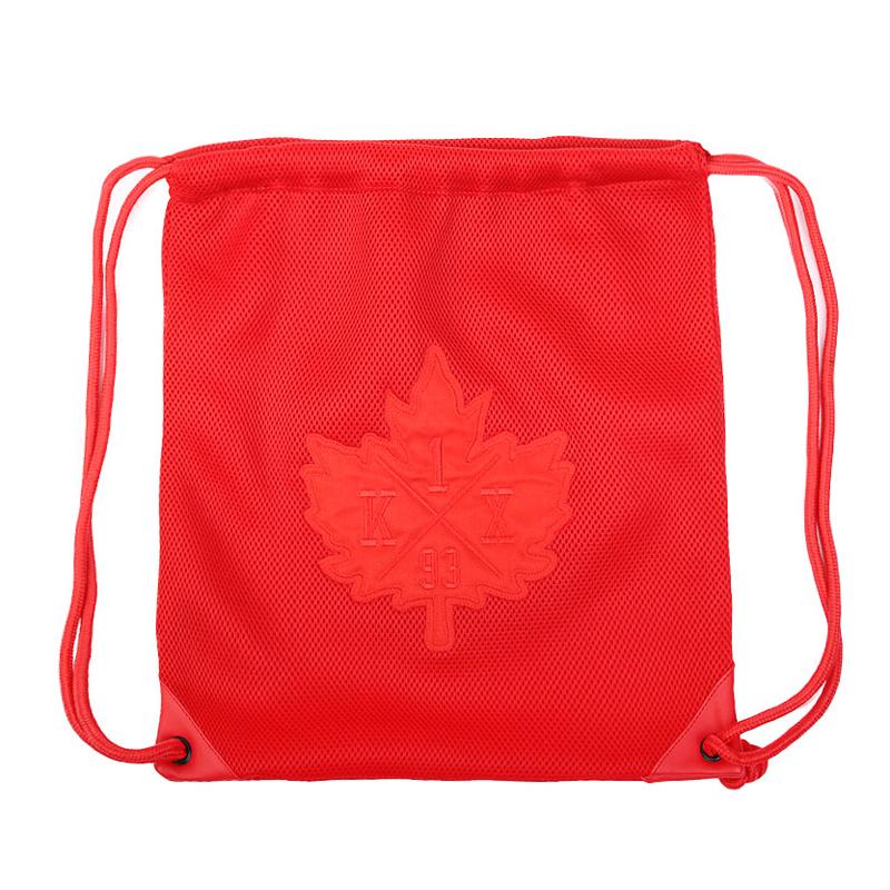 Сумка K1X Mesh Leaf BagСумки, рюкзаки<br>полиэстер<br><br>Цвет: Красный<br>Размеры US: OS;LOT