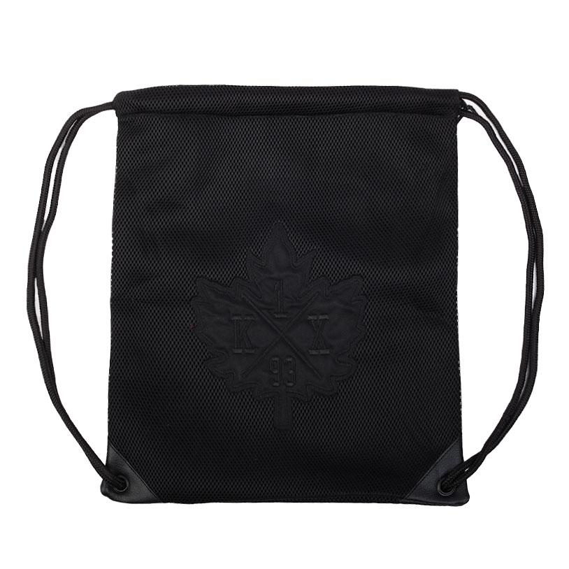 Сумка K1X Mesh Leaf BagСумки, рюкзаки<br>полиэстер<br><br>Цвет: Черный<br>Размеры US: OS<br>Пол: Мужской