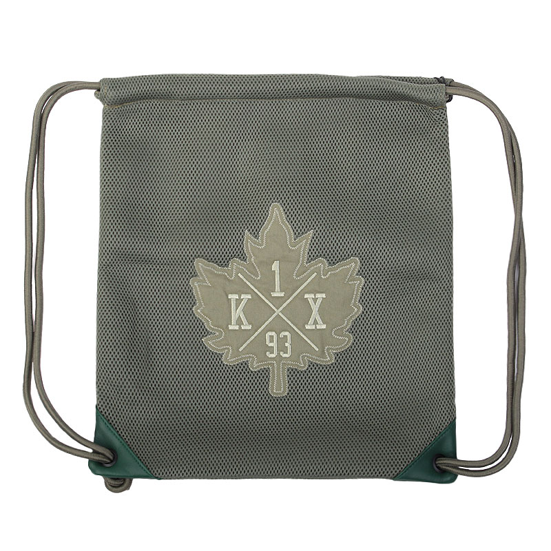 Сумка K1X Mesh Leaf BagСумки, рюкзаки<br>полиэстер<br><br>Цвет: Зеленый<br>Размеры US: OS<br>Пол: Мужской