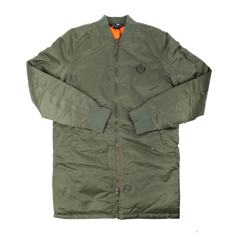 Куртка K1X Monochrome Long Bomber