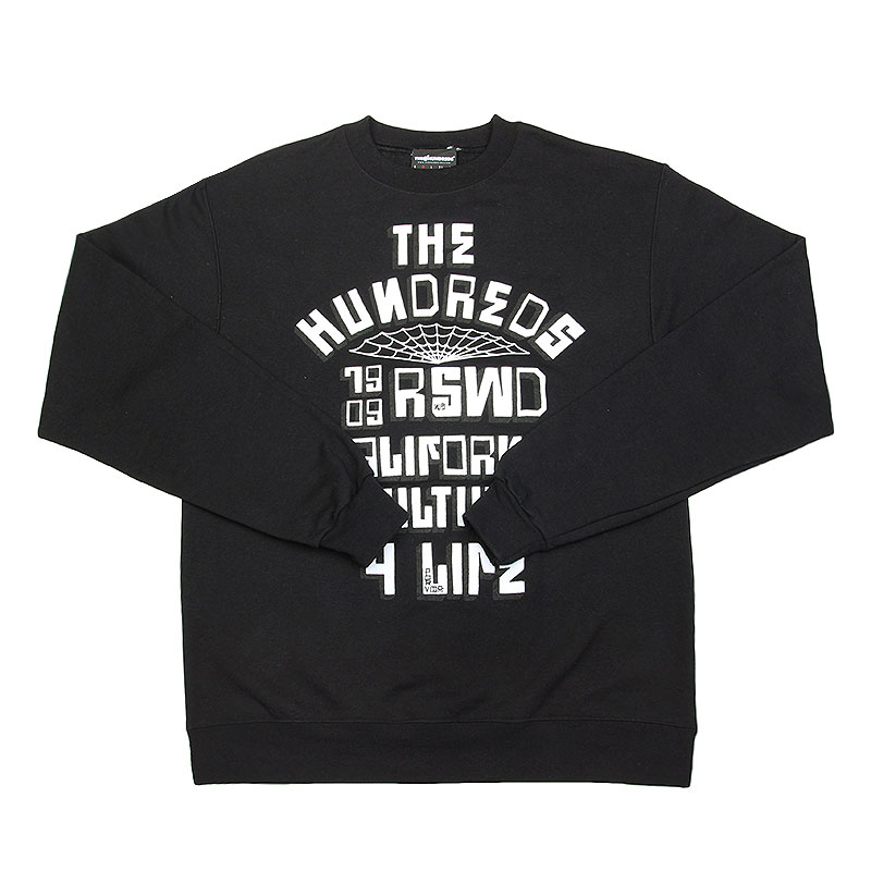 Толстовка the hundreds Block City Crewneck