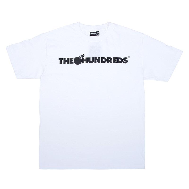Футболка the hundreds Forever Bar T-ShirtФутболки<br>Хлопок<br><br>Цвет: Белый<br>Размеры : L;M;S;XL