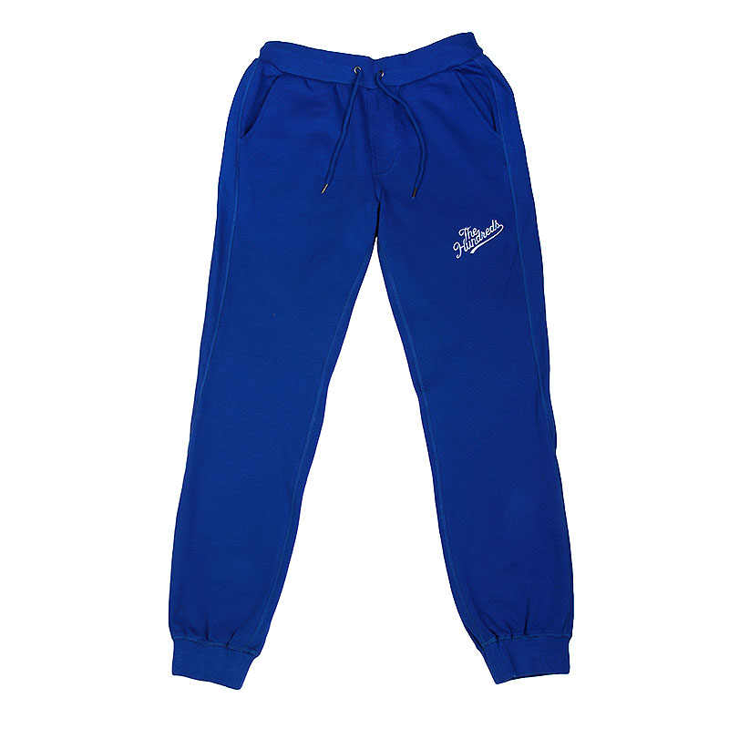 мужские синие  брюки the hundreds legacy sweatpant T16P104052-rl blue - цена, описание, фото 1