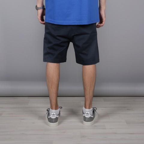 мужские тёмно-синие  шорты the hundreds industry chino short T16P204038-navy - цена, описание, фото 3