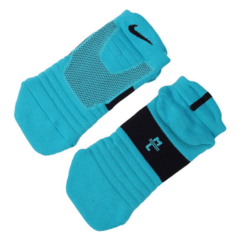 Носки NikeНоски<br>Полиэстер, нейлон, хлопок, эластан<br><br>Цвет: Голубой<br>Размеры US: M;L;XL<br>Пол: Мужской