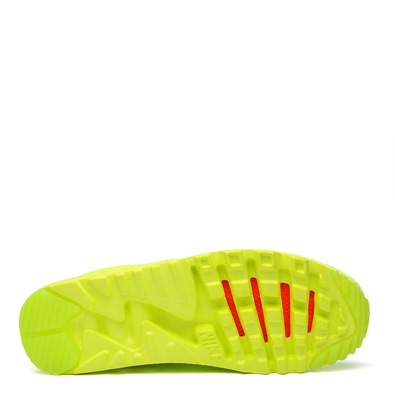 мужские желтые  кроссовки nike air max 90 ultra br 725222-700 - цена, описание, фото 4