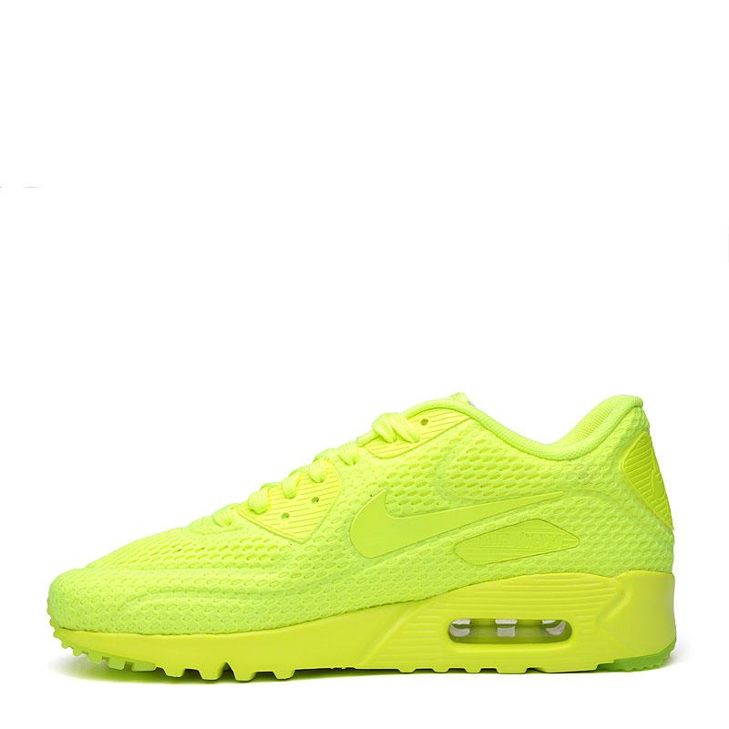 мужские желтые  кроссовки nike air max 90 ultra br 725222-700 - цена, описание, фото 3