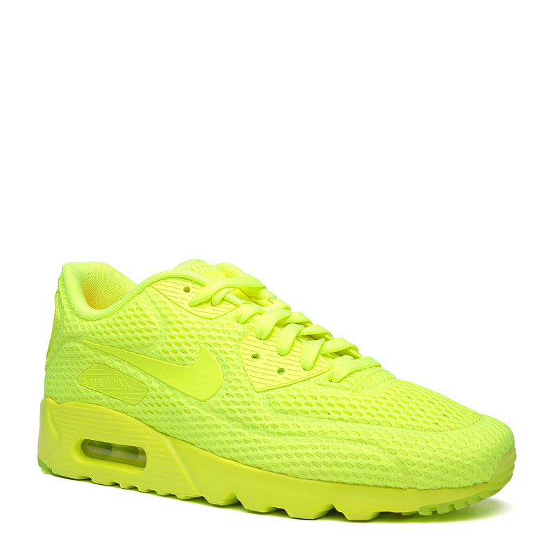 Кроссовки Nike sportswear Air Max 90 Ultra BRКроссовки lifestyle<br>текстиль,резина<br><br>Цвет: Желтый<br>Размеры US: 8;8.5;9;9.5;10;10.5;11;11.5;12;12.5