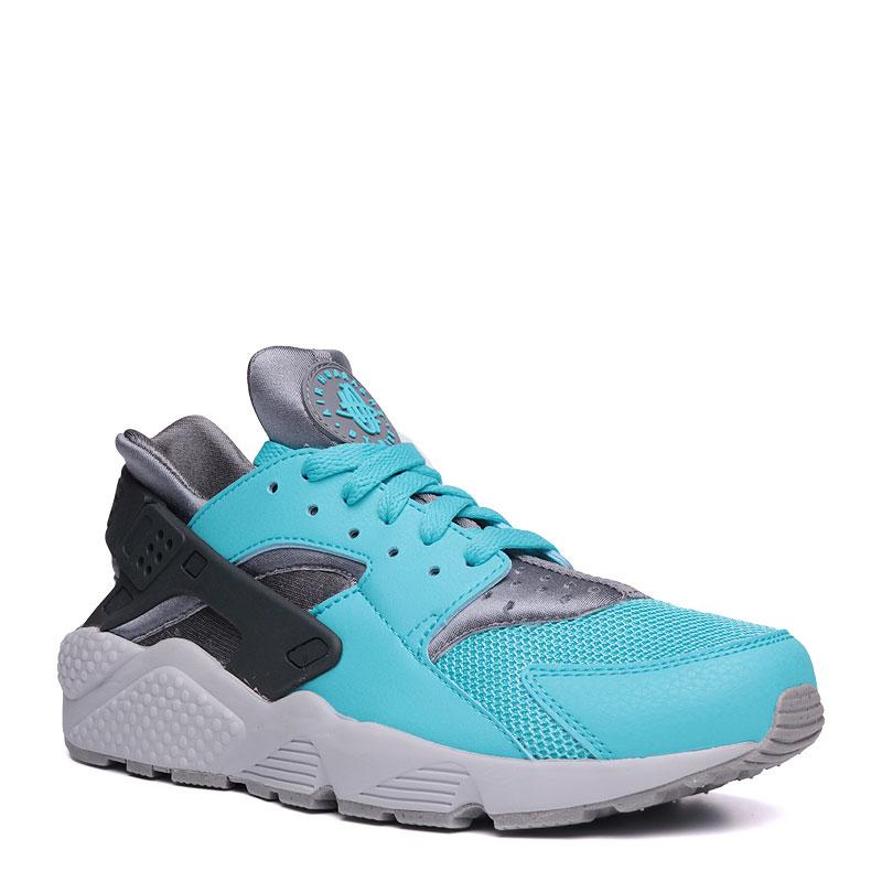 Кроссовки Nike sportswear Air HuaracheКроссовки lifestyle<br>синтетика,текстиль,резина<br><br>Цвет: голубой,серый<br>Размеры US: 8;8.5;9;9.5;10;10.5;11;11.5;12;12.5;13