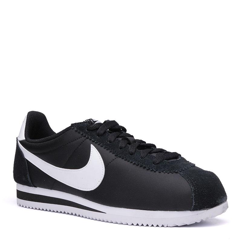 Кроссовки Nike Classic Cortez NylonКроссовки lifestyle<br>кожа,текстиль,резина<br><br>Цвет: Черный<br>Размеры US: 8;9;9.5;10;10.5;11;11.5;12<br>Пол: Мужской