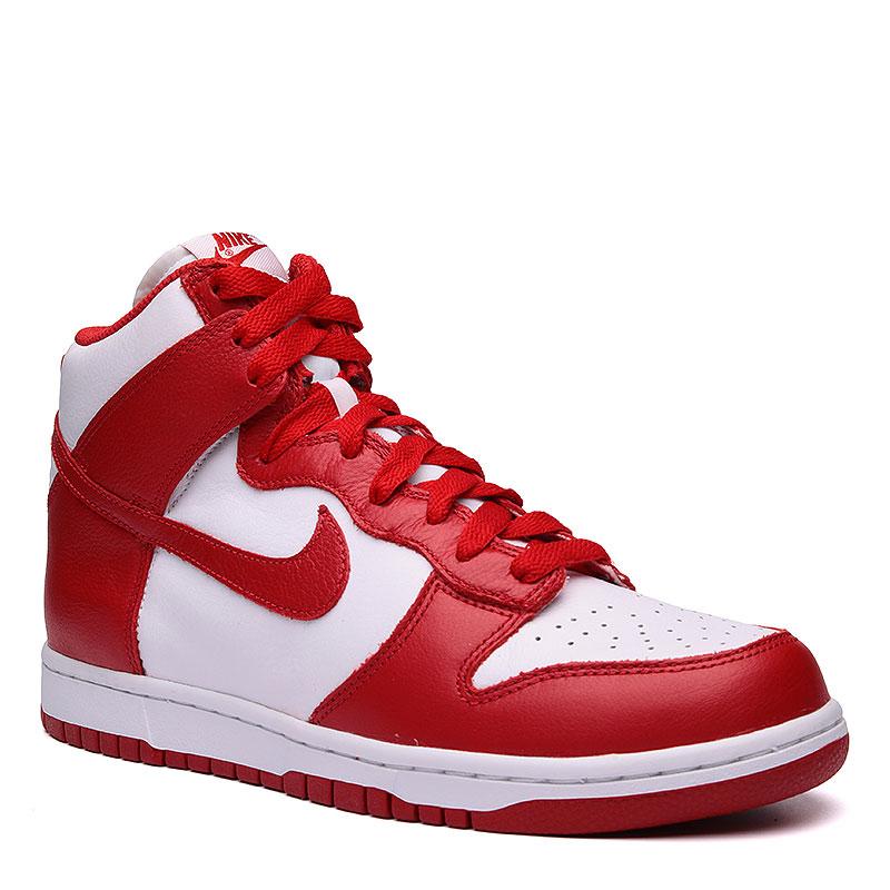 Кроссовки  Nike sportswear Dunk Retro QSКроссовки lifestyle<br>Кожа, текстиль, резина<br><br>Цвет: Красный, белый<br>Размеры US: 10;10.5;11.5;12;8;8.5;9;9.5