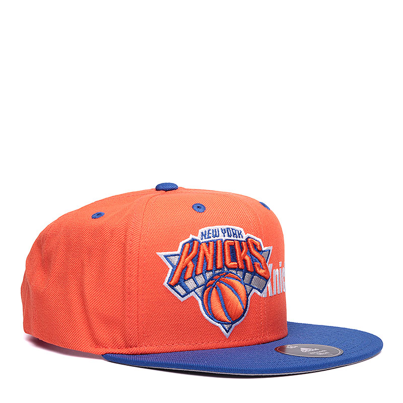 Кепка adidas Cap KnicksКепки<br>Акрил, шерсть<br><br>Цвет: Оранжевый, синий<br>Размеры UK: OS
