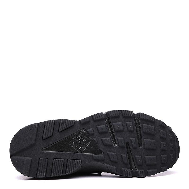 женские черные  кроссовки nike wmns air huarache run 634835-012 - цена, описание, фото 4