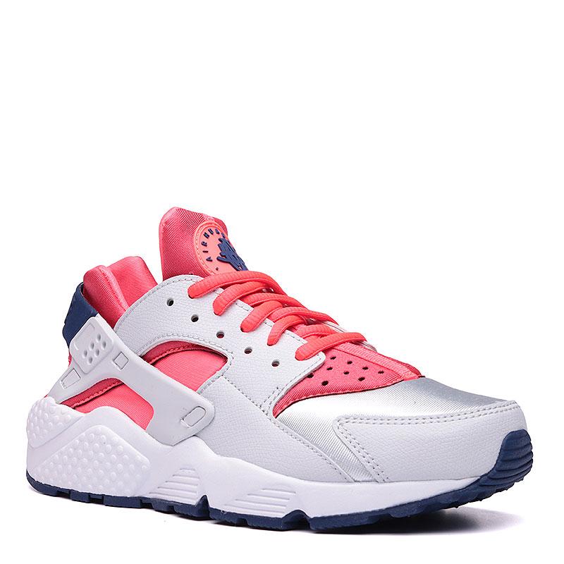 Кроссовки  Nike sportswear WMNS Air Huarache RunКроссовки lifestyle<br>Синтетика, текстиль, резина<br><br>Цвет: Красный, белый, синий<br>Размеры US: 5.5;6;6.5;7