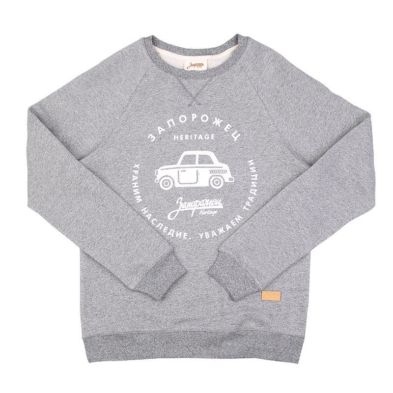 Толстовка Запорожец heritage МашинаТолстовки свитера<br>Хлопок<br><br>Цвет: Серый<br>Размеры : XS;XL<br>Пол: Мужской