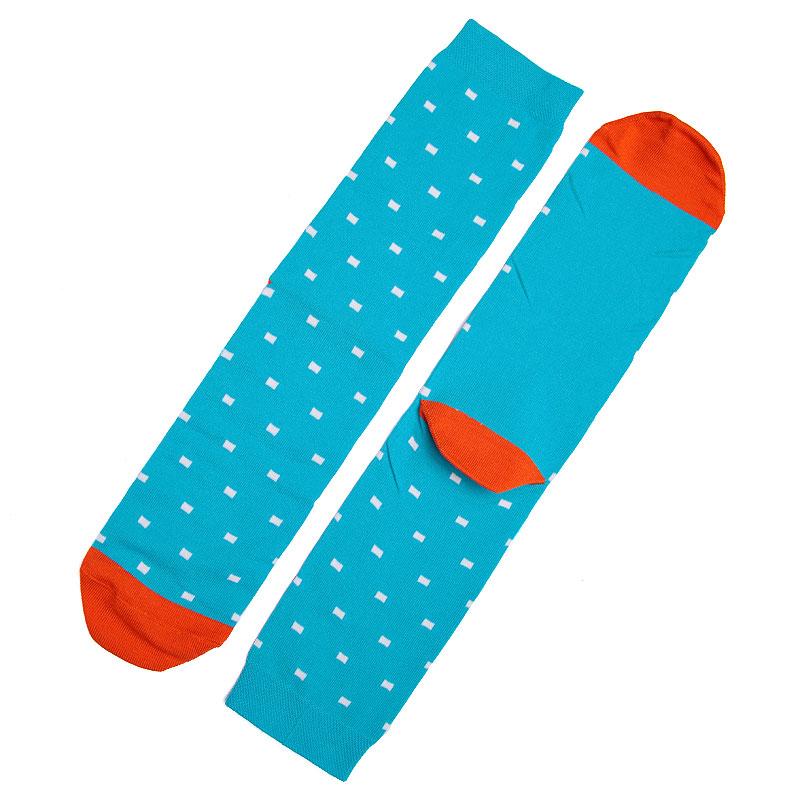 Носки SocksnRollНоски<br>87% хлопок,10% полиамид,3% эластан<br><br>Цвет: Голубой,оранжевый<br>Размеры : 41-45