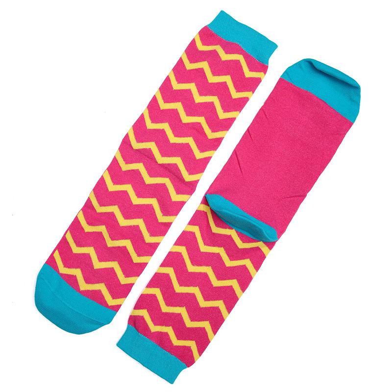 Носки SocksnRollНоски<br>87% хлопок,10% полиамид,3% эластан<br><br>Цвет: Розовый,желтый,голубой<br>Размеры : 35-39