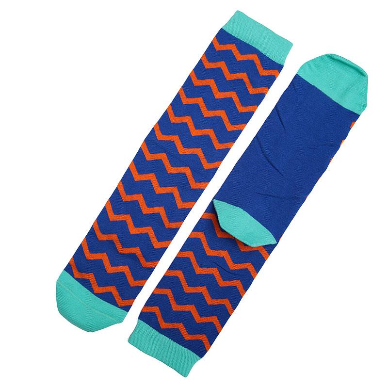 Носки SocksnRollНоски<br>87% хлопок,10% полиамид,3% эластан<br><br>Цвет: Синий<br>Размеры : 41-45
