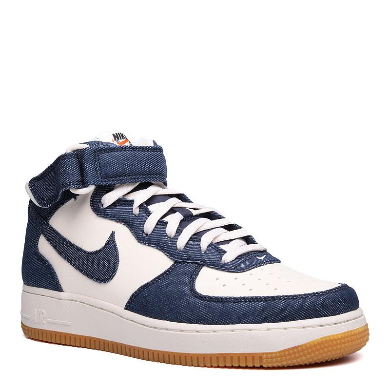 Кроссовки Nike sportswear Air Force 1 Mid `07Кроссовки lifestyle<br>синтетика,текстиль,резина<br><br>Цвет: Синий<br>Размеры US: 10;10.5;11;11.5;12;12.5;13;14;8;8.5;9;9.5