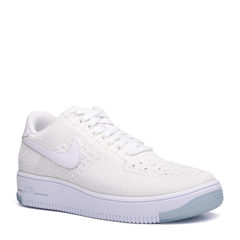 Кроссовки Nike Sportswear WMNS Air Force 1 Flyknit LowКроссовки lifestyle<br>кожа,текстиль,резина<br><br>Цвет: Белый<br>Размеры US: 5.5;8<br>Пол: Женский