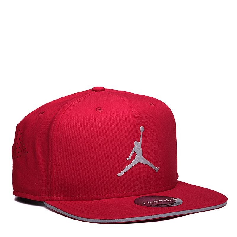 Кепка Jordan JumpmanКепки<br>Полиэстер, хлопок<br><br>Цвет: Красный<br>Размеры US: OS<br>Пол: Мужской
